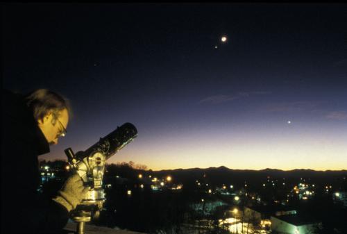 Stargazing in Asheville 2