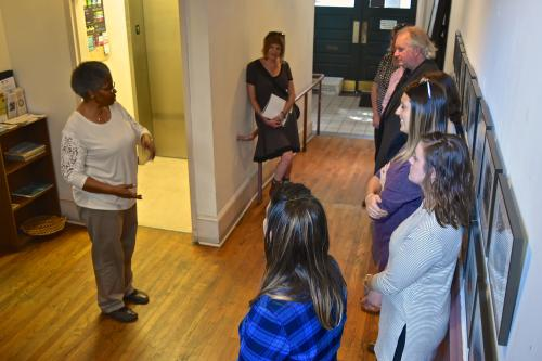 Touring the YMI Cultural Center