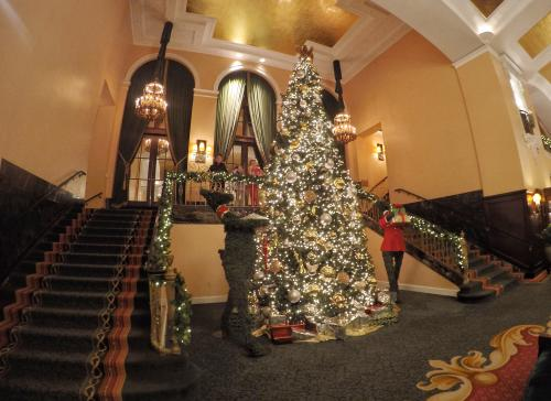 Grand Rapids Amway Grand Hotel Holiday Decorations