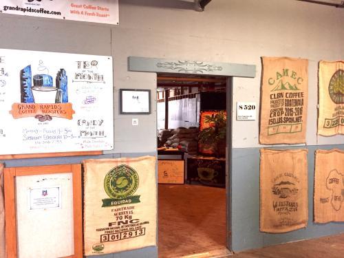 Grand Rapids Coffee Roasters Interior