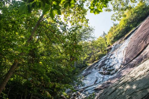 Little Bearwallow Falls on Wildcat Rock Trail