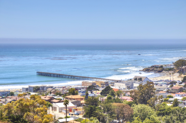 California Coastline Beach
