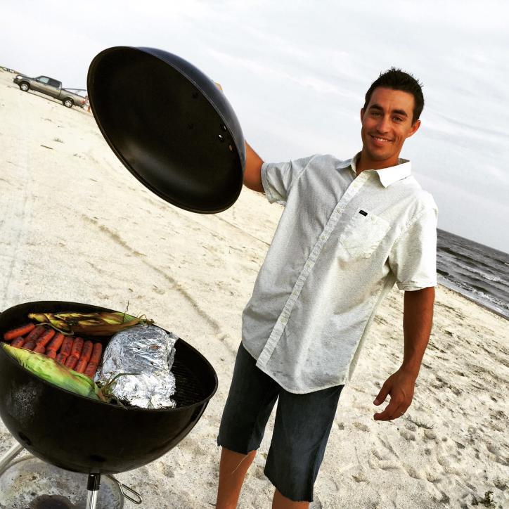 Monsour beach barbecue