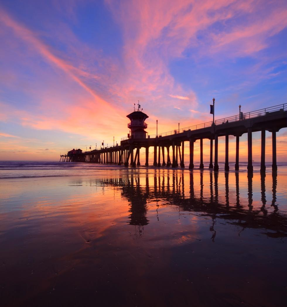 The Peir: Huntington Beach Pier