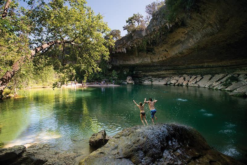 Hamilton pool preserve for Things to do near austin texas