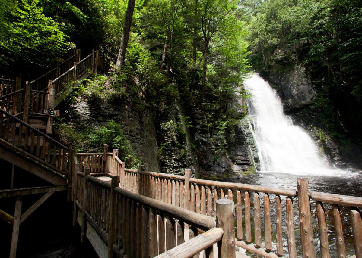 Bushkill Falls Bushkill Pa 18324