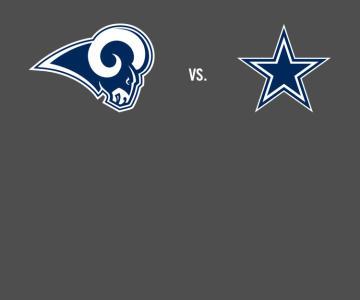 Image result for LA Rams vs. Dallas Cowboys
