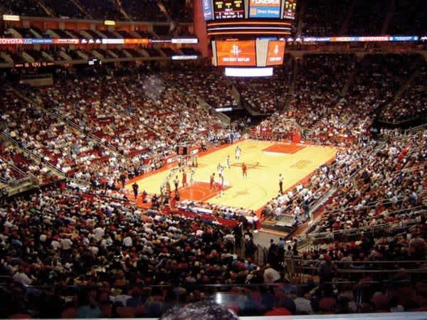 Toyota Center Capacity >> Toyota Center Venues In Houston Tx 77002