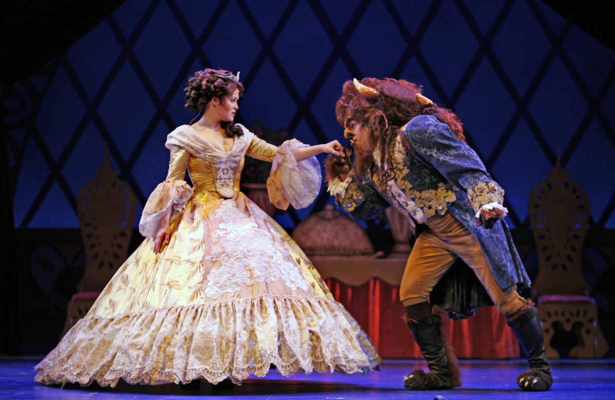 Image result for theater centre chattanooga beauty and the beast