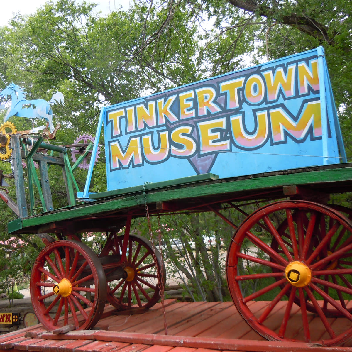 how to get to new tinkertown