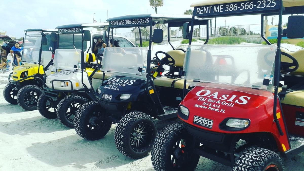 Beach Carts Daytona
