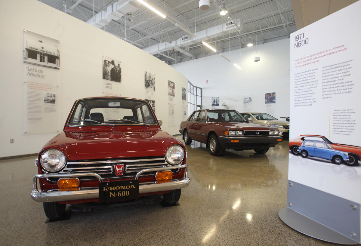 Honda heritage center for Honda heritage center