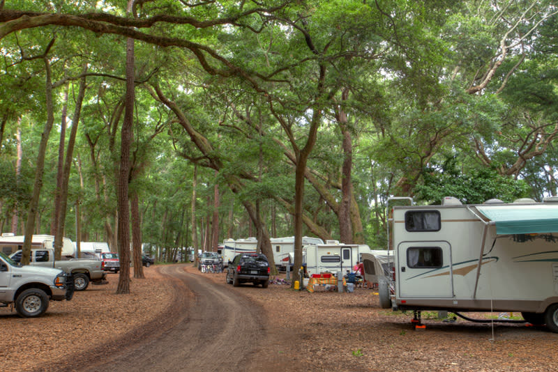 Little St Simons Island Camping