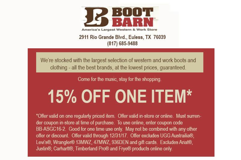 Boot barn stopboris Images