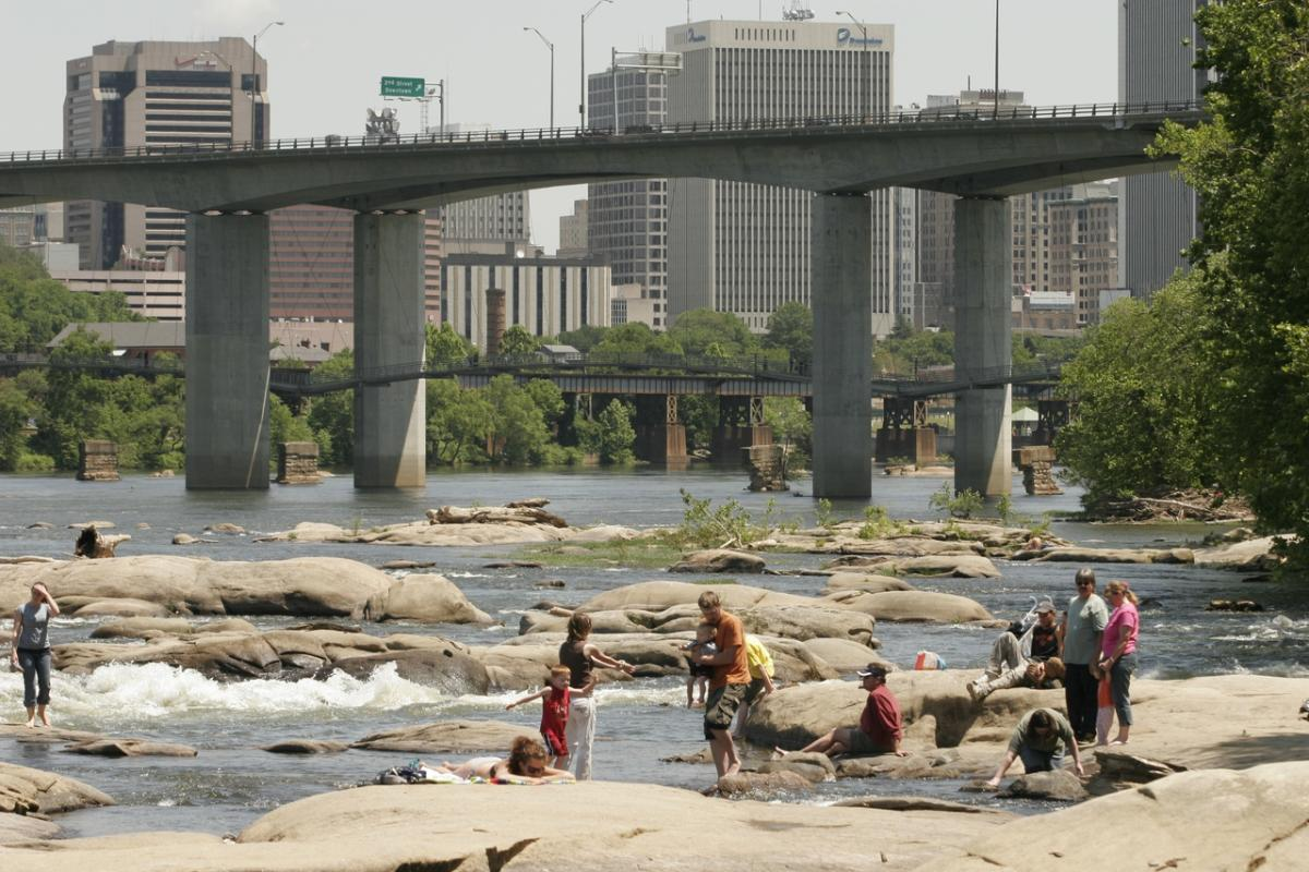 Belle isle for Fishing in richmond va