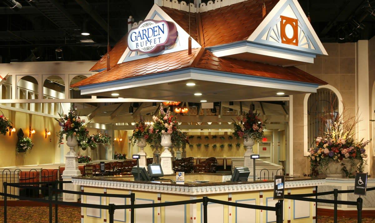 Garden Buffet at Saratoga Casino Hotel