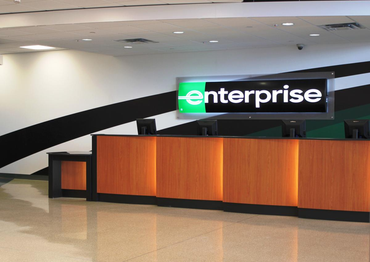 Enterprise car rental seattle airport address