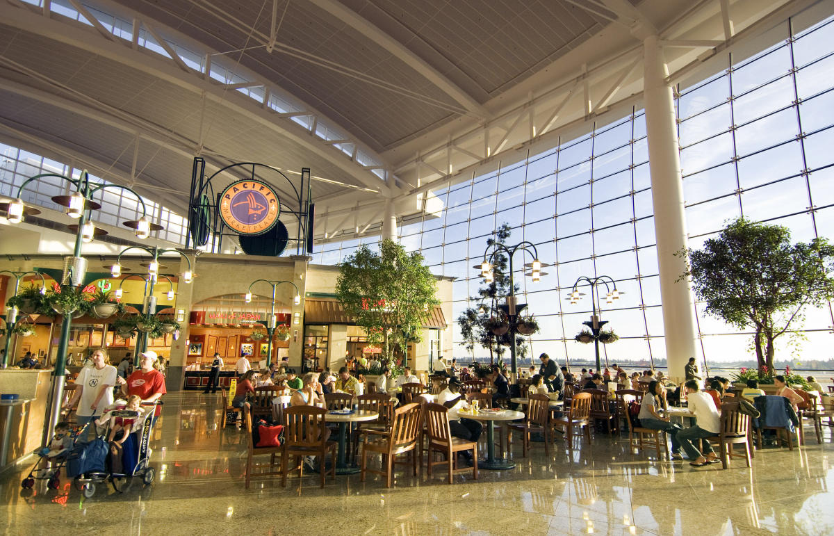 Seattle Airport Seafood Restaurant