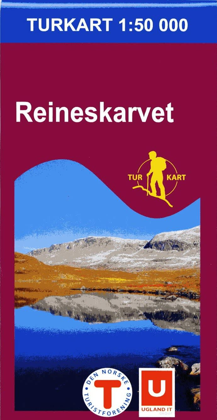 reineskarvet kart Maps and information   Hiking Ål in Hallingdal reineskarvet kart