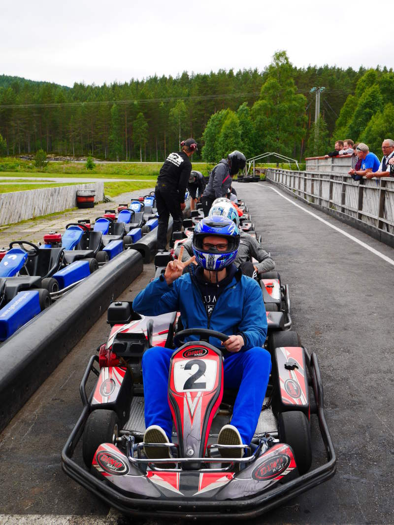 kart media norge as Go kart track in Evje kart media norge as