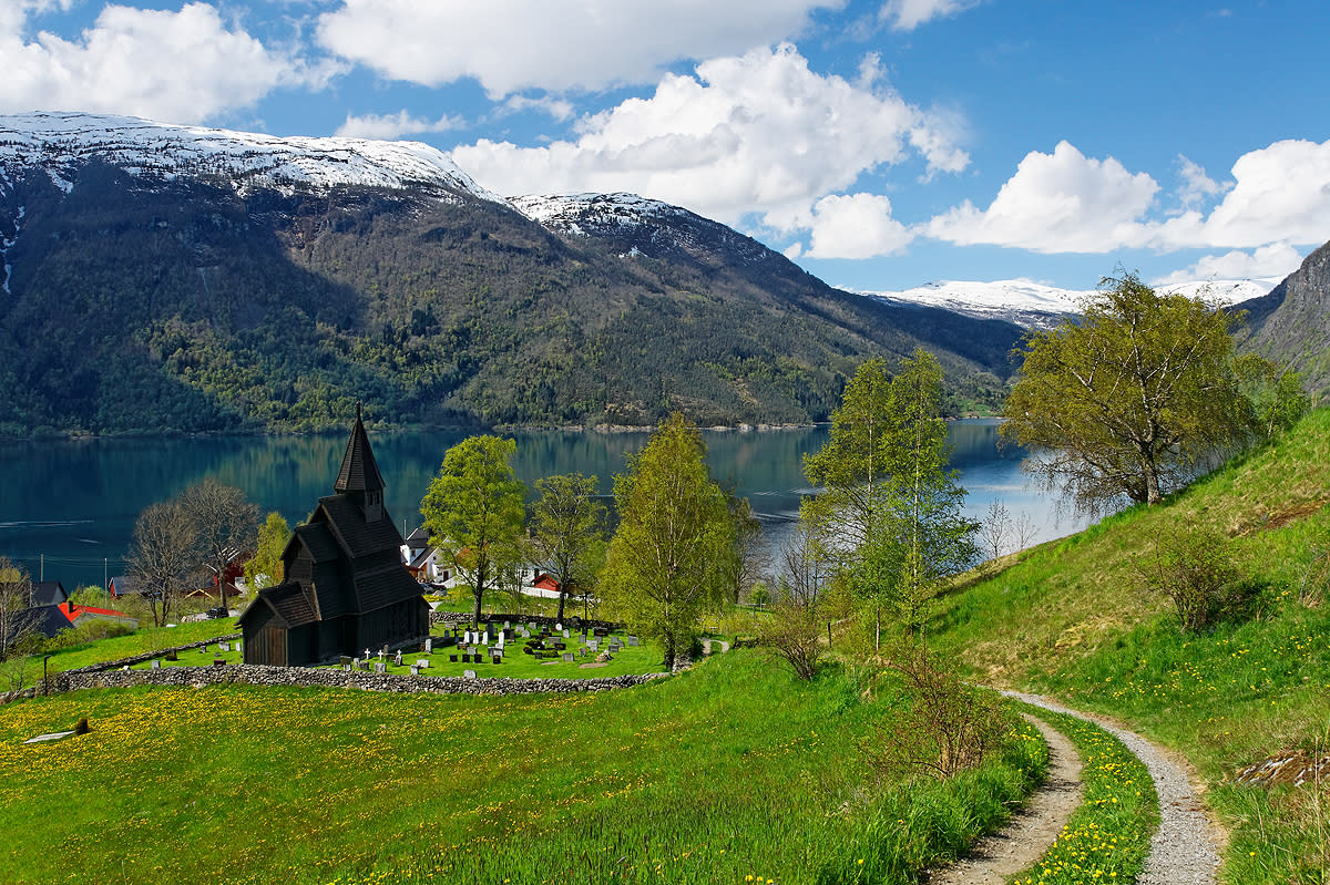 Stave Churches Official Travel Guide To Norway Visitnorwaycom - Urnes norway map