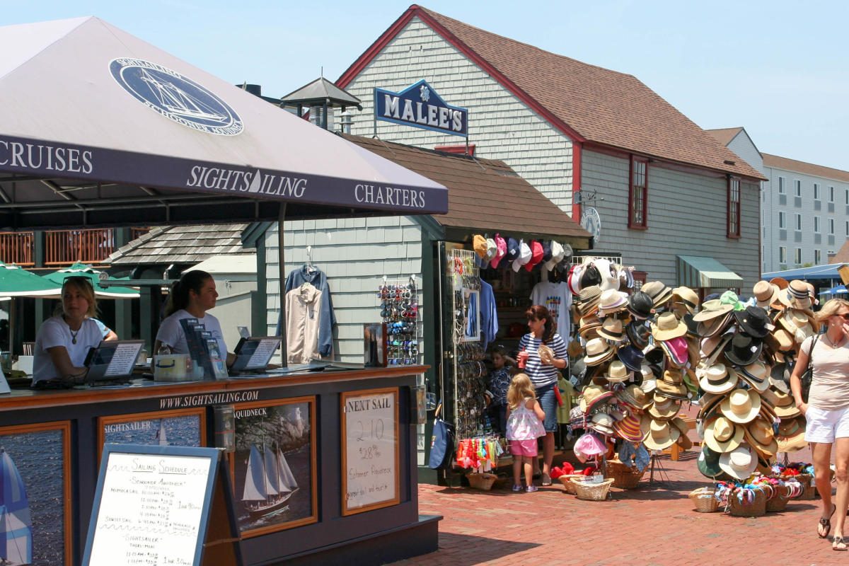 Bowen's Wharf Columbus Day Sidewalk Sale