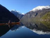 kayak Geirangerfjord