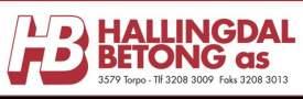 Hallingdal Betong - logo