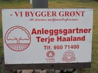 Anleggsgartner Terje Haaland