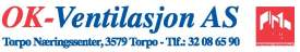 Ok Ventilasjon logo