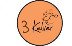 3 kalver logo