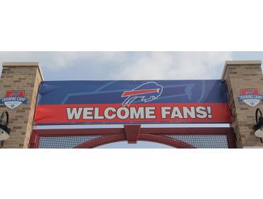 2017 Buffalo Bills Training Camp Hospitality Tent opportunities