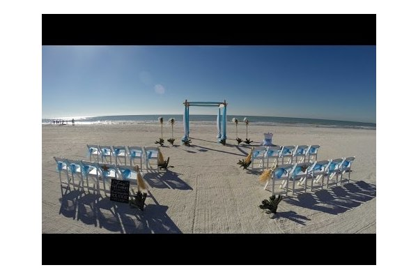 Gulf Beach Weddings:  Time Lapse