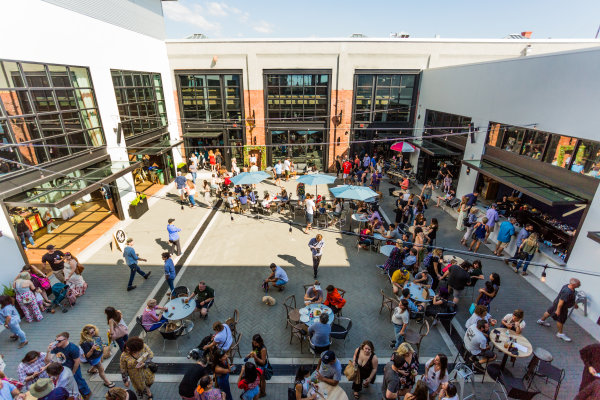 Courtyard at Armature Works