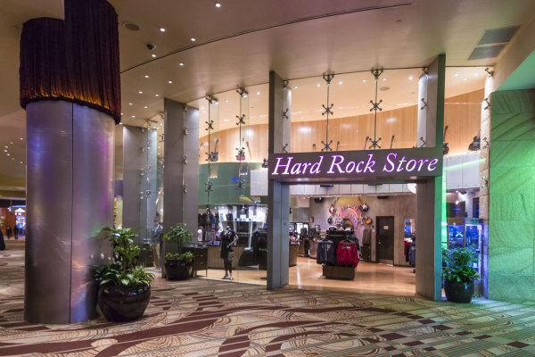 Great items at the Hard Rock Store