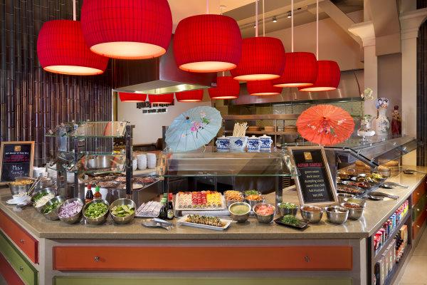 Fresh Harvest Buffet: Sushi, Noodle Dim Sum