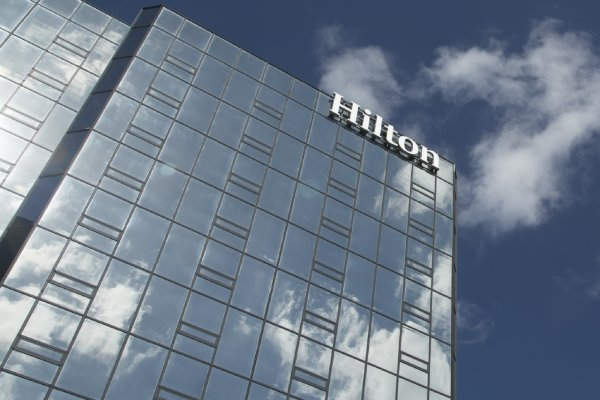 Hilton Tampa Downtown Exterior