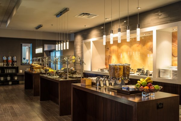 Hilton Tampa Downtown Hotel Dining Breakfast