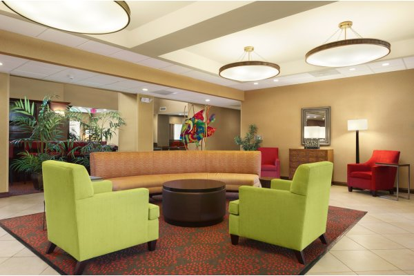 Homewood Suites Brandon Florida Hotel Lobby Seating