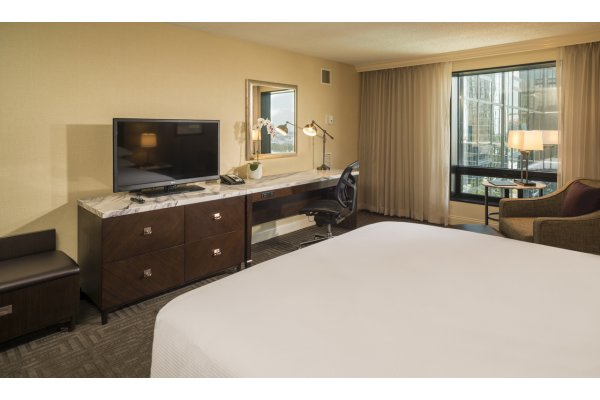 Hotels in Tampa Hilton Downtown King Room Desk