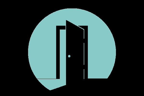 Teal Door Hosting Logo