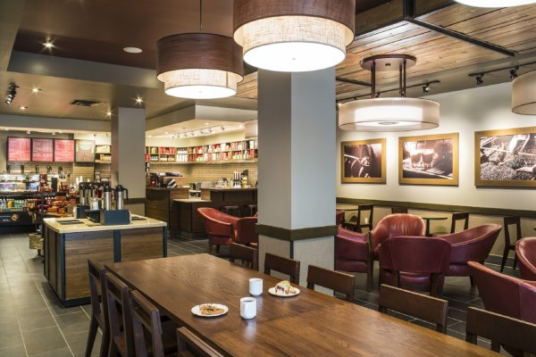 Starbucks Hilton Tampa Downtown Hotel