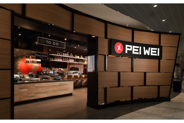Pei Wei Asian Diner Tampa Airport Airside A