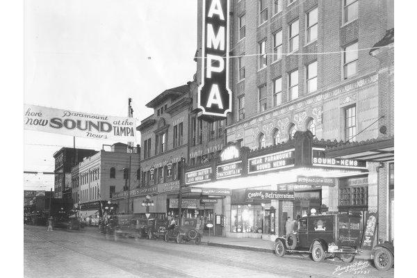Tampa Theatre, circa 1929