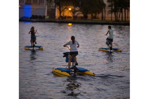 Tampa Bay Water Bikes