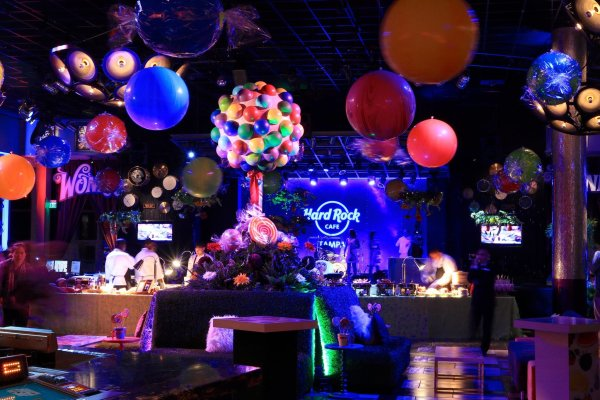 Willy Wonka Theme Event Decor