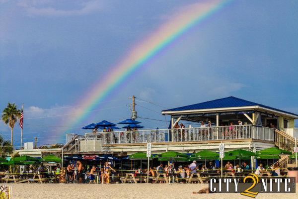 Rainbow over Caddy's