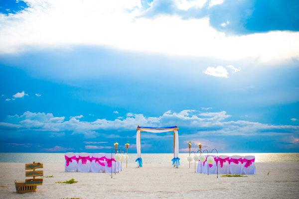Destination Wedding by Gulf Beach Weddings