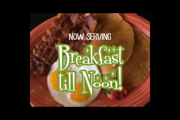 Breakfast till Noon