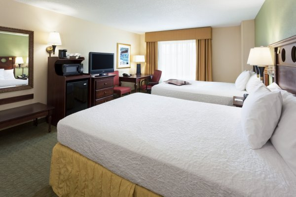 Double Beds Hampton Inn Tampa Ybor City Hotels